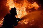 آتشسوزی در کمپ کارگری کنگان+فیلم